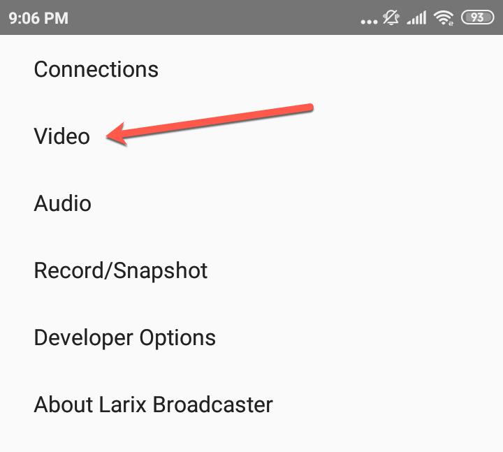 live video streaming dengan android